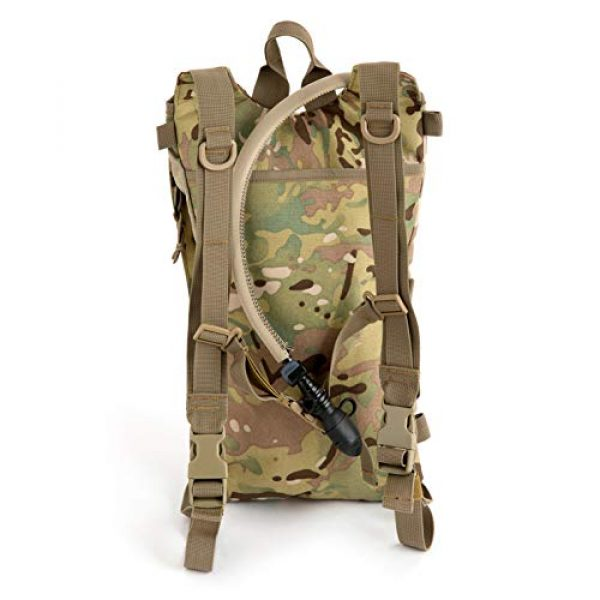 MT Tactical Backpack 5 MT Military FILBE Hydration Carrier Army Tactical Backpack with Bladder Multicam