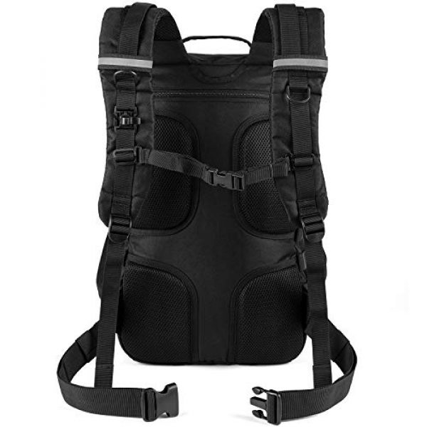 RUPUMPACK Tactical Backpack 5 RUPUMPACK Military Tactical Backpack Large Army 3 Day Assault Pack 42L Camping Survival Rucksack Molle Bug Out Bag with 3L Water Bladder
