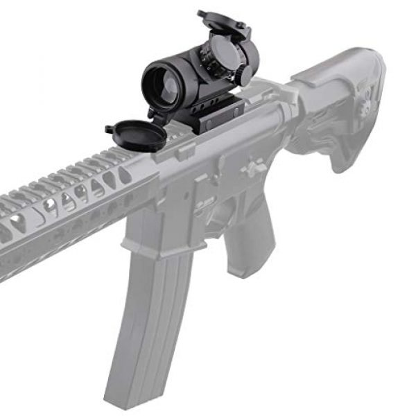 Vector Optics Rifle Scope 7 Vector Optics Calypos 1x30mm, Red Illuminated BDC Reticle, Second Focal Plane (SFP), 1/2 MOA Compact Tactical Prism Riflescope