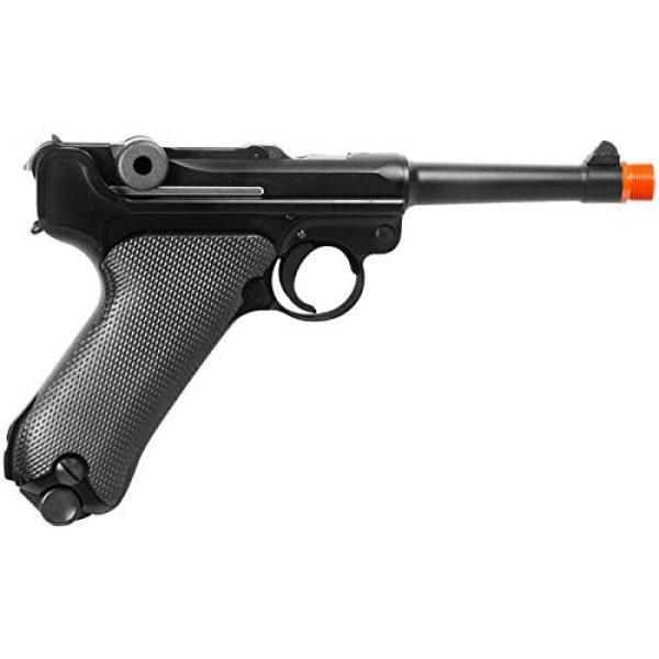 WE Airsoft Pistol 3 WE p08 metal gas 4 inch barrel airsoft pistol airsoft gun(Airsoft Gun)