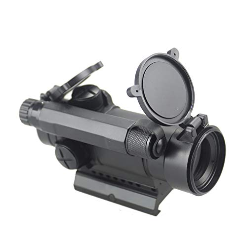 DJym Rifle Scope 5 DJym M4 Non-Magnification Red Film, Red Dot Sight, High Shockproof Waterproof Rifle Scope