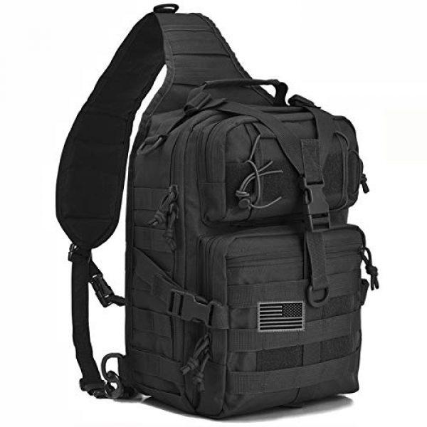 hopopower Tactical Backpack 1 Tactical Sling Bag Pack Military Shoulder Backpack Everyday Carry Bag,20L