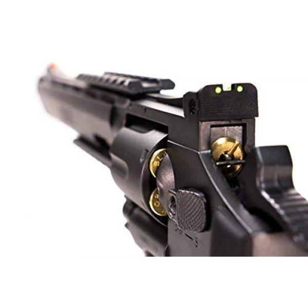 Black Ops Airsoft Pistol 6 Black Ops Exterminator Pistol - CO2 Pistol Revolver BB Gun Full Metal