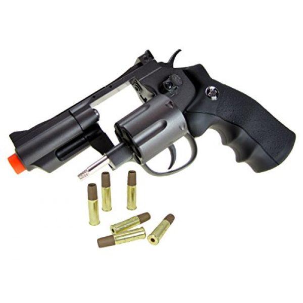 TSD Tactical Airsoft Pistol 6 TSD tactical - sdcnr708bb - tsd/wg model 708 co2 gas black revolver(Airsoft Gun)