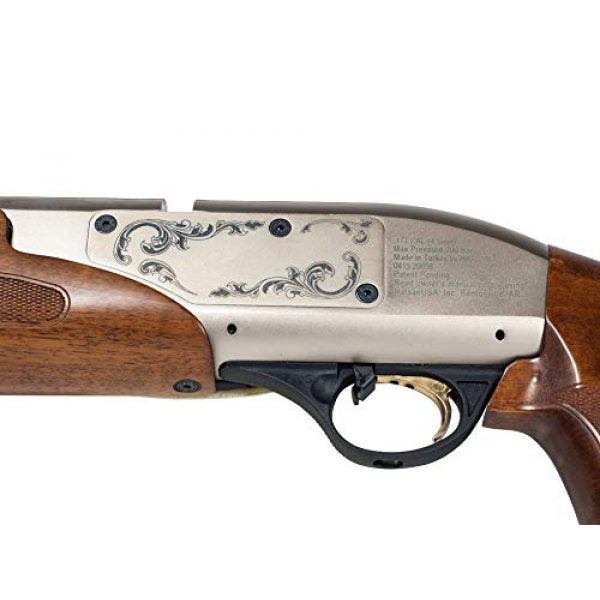 Wearable4U Air Rifle 7 Hatsan Galatian Walnut QE Air Rifle with Included Wearable4U 100x Paper Targets and Lead Pellets Bundle