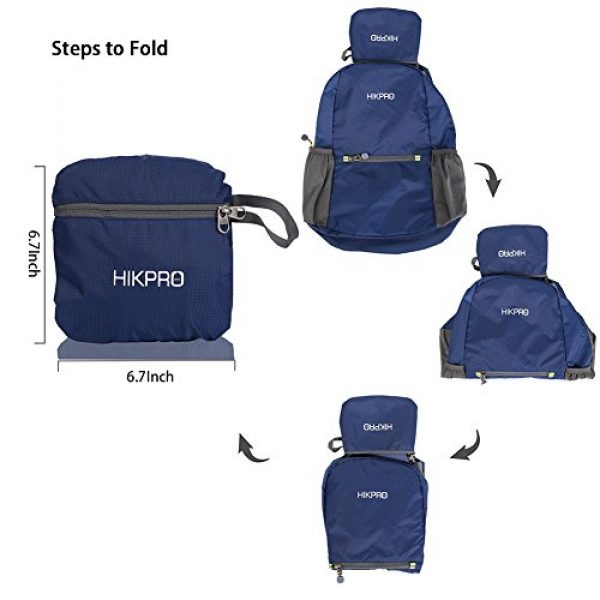 HIKPRO Tactical Backpack 7 HIKPRO 20L - The Most Durable Lightweight Packable Backpack, Water Resistant Travel Hiking Daypack for Men & Women