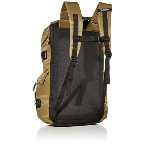 Burton Tactical Backpack 2 Burton Annex Backpack with Padded Laptop Sleeve and Adjustable Webbing