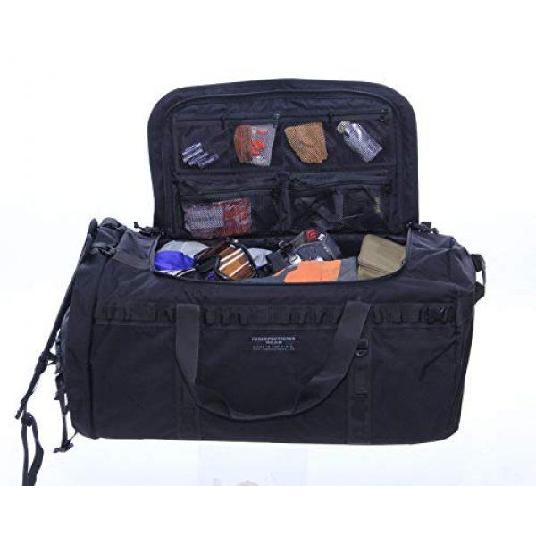 ForceProtector Gear Tactical Backpack 7 Hybrid Deployment Bag, Black