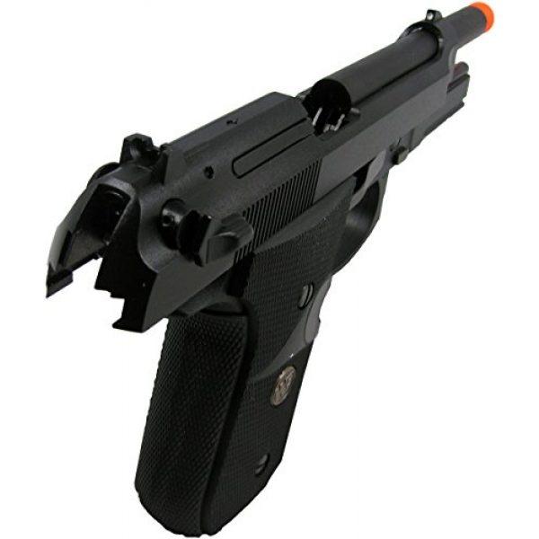 WE Airsoft Pistol 4 WE meu m92 gas/co2 blowback full metal - black(Airsoft Gun)