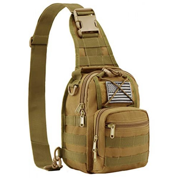 Luckin Packin Tactical Backpack 1 Luckin Packin Tactical Sling Bag,Military Rover Shoulder Sling Backpack,Tactical Sling Pack