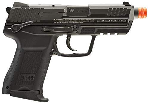 Umarex Airsoft Pistol 3 Umarex HK Heckler & Koch HK45 GBB Blowback 6mm BB Pistol Airsoft Gun, Black, HK45 Compact GBB, one Size (2275034)