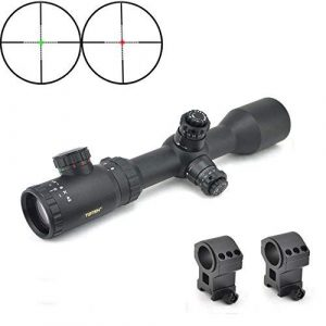 TOTEN Rifle Scope 1 TOTEN Rifle Scope 1.5-6x42XL Gun Scope with Picatinny Mounting Rings Hunting Scope for Watching