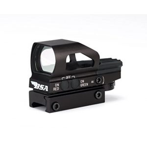 BSA Optics Rifle Scope 1 BSA Optics DPMRGS Panoramic Sight with Push Button Digital Switch