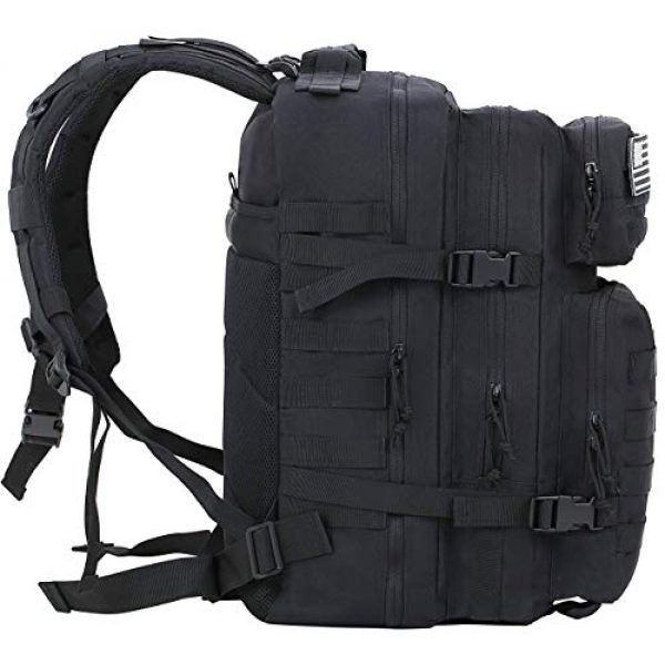 Luckin Packin Tactical Backpack 4 Luckin Packin Tactical Backpack,Military Backpack,Molle Bag 45 Liter Large 2 Pack