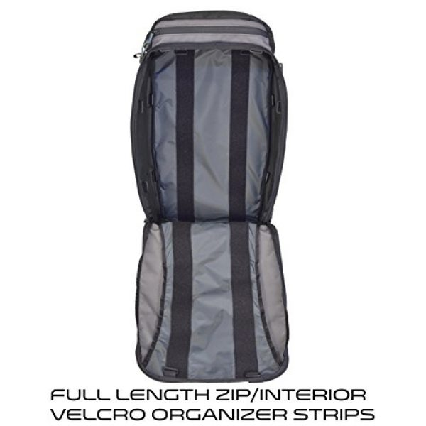 VITAL GEAR Tactical Backpack 3 VITAL GEAR Air Rover Modular Adventure Travel Backpack, Black, Medium/40mm