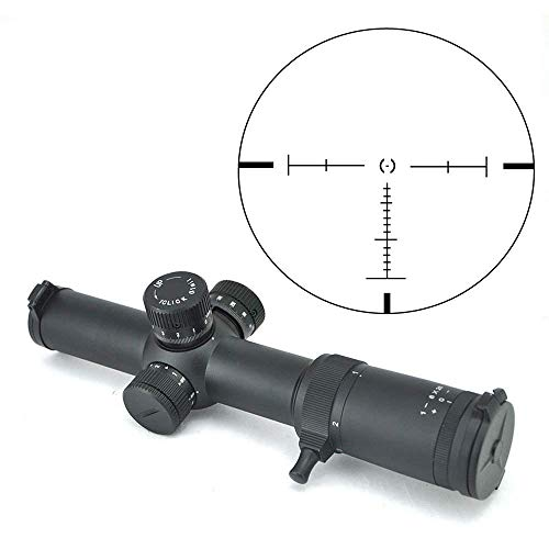 Visionking Rifle Scope 1 Visionking Rifle Scope 1-8X26 FFP Illuminated Crosshair Rifle Scopes for Tactical 0.1mil Click