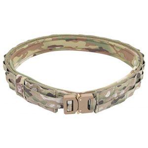 Grey Ghost Gear Tactical Belt 1 Grey Ghost Gear 7012-5 UGF Battle Belt with Padded Inner, Medium, Medium, Multicam