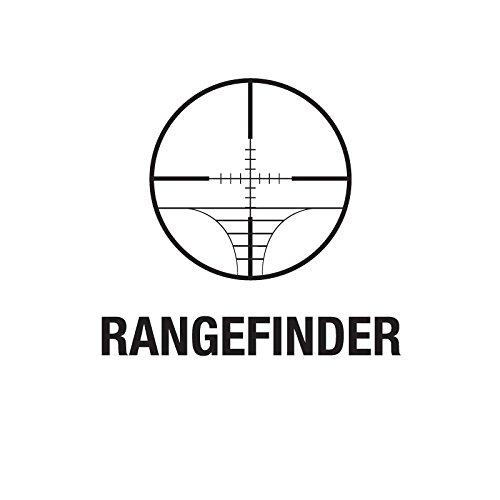 TACFUN Rifle Scope 6 TACFUN Tactical Rangefingder Reticle Compact Scope/w Rings