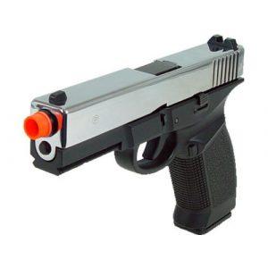 HFC Airsoft Pistol 1 HFC dark hawk full metal gun gas powered blowback airsoft pistol with case(Airsoft Gun)