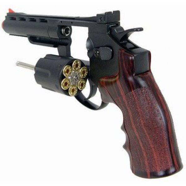 WG Airsoft Pistol 4 WG model-701b 4 revolver full metal co2 nbb(Airsoft Gun)