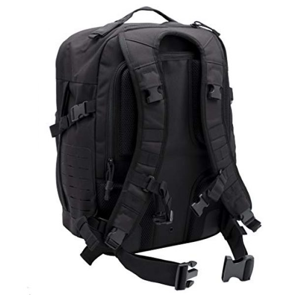 LA Police Gear Tactical Backpack 2 LA Police Gear Atlas 24H MOLLE Tactical Backpack for Hiking, Rucksack, Bug Out, or Hunting