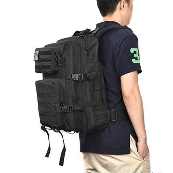 Dunnta Tactical Backpack 7 Dunnta Tactical Backpack, 3 Day Assault Pack Molle Bug Out Bag 42L Military Backpack for Hiking Camping Trekking Hunting