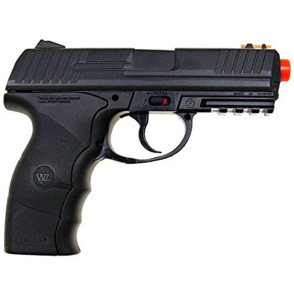 WG Airsoft Pistol 2 WG model-4303 w3000 full metal co2 non-blowback pistol/black(Airsoft Gun)