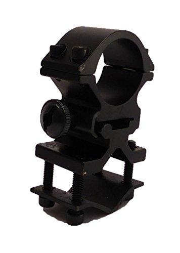 "Tactical Scorpion Gear Rifle Scope Accessory 2 Tactical Scorpion Gear TSG-GMB07A 1"" Aluminum Scope Laser Universal Mount - Black"