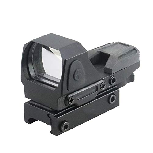 DJym Rifle Scope 1 DJym Button Red Dot Sight, Shockproof Stable Rifle Scope Suitable for Hunting Games