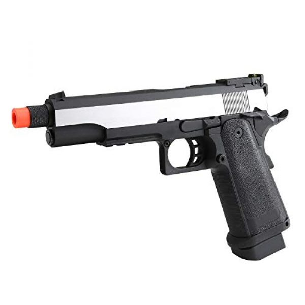 SRC Airsoft Pistol 3 SRC Hi-Capa 5.1 Dual Tone Co2 Airsoft Pistol Matte Finish [Airsoft Blowback]