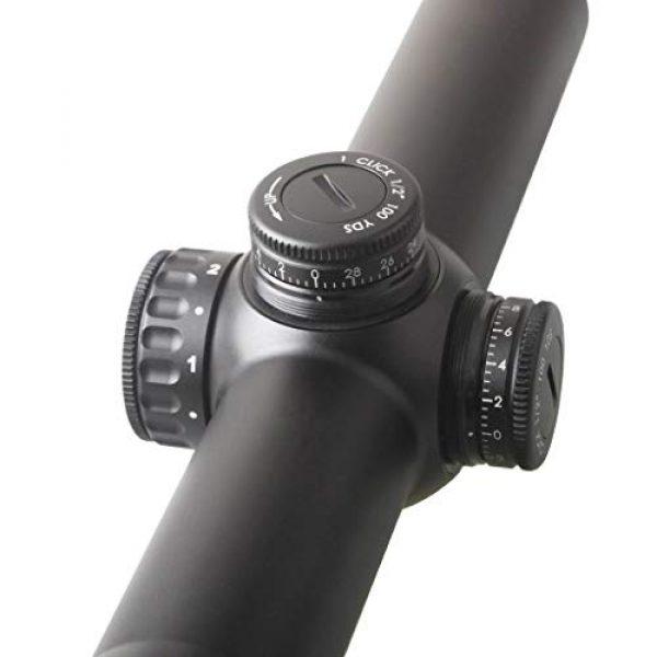 Vector Optics Rifle Scope 4 Vector Optics Continental 1-6x24mm, 30mm Tube, 1/2 MOA Second Focal Plane (SFP) Riflescope