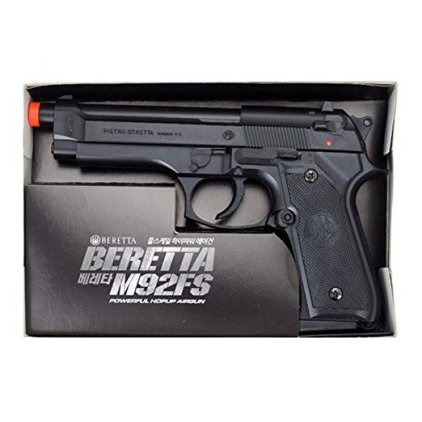 GUN STORM Airsoft Pistol 2 GUN STORM Beretta M92FS Plastic Toy BB Pistol, Powerful Hopup Airgun, Black