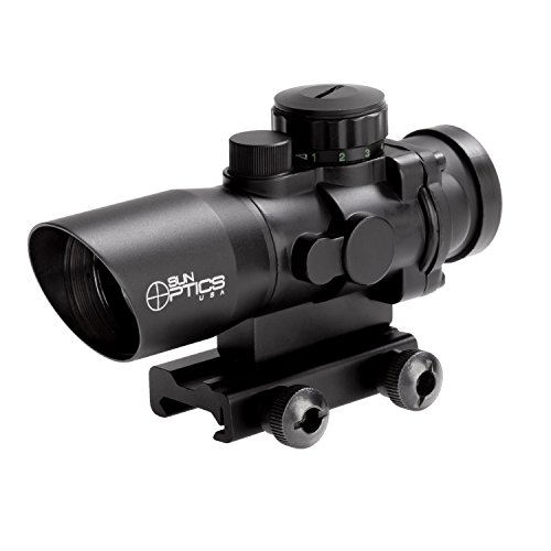 Sun Optics USA Rifle Scope 1 Sun Optics USA Tactical Prismatic Reticle/Lite Sighting Device (6 x 50-Inch)