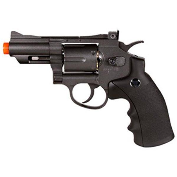 TSD WinGun Airsoft Pistol 1 TSD/wg 708 co2 airsoft revolver, black airsoft gun(Airsoft Gun)