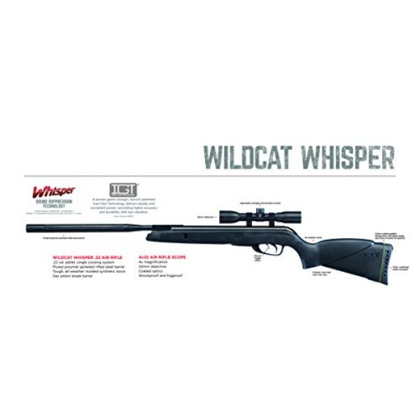 Gamo Air Rifle 2 Gamo Wildcat Whisper Air Rifles