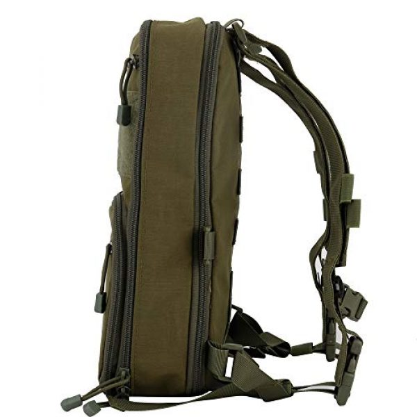 Huenco Tactical Backpack 2 Huenco Tactical MOLLE Military Day Pack Variable Capacity Assault Backpack for Adventure Traveling School