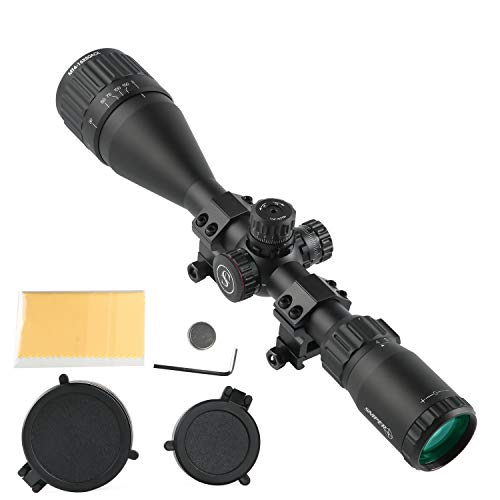 "Sniper Rifle Scope 7 Sniper MT4-16X50AOL Hunting Rifle Scope/Red, Green Illuminated Mil Dot Reticle/Fully Multi-Coated Lens/Wind and Elevation Adjust/Front AO Adjust for fine Tuning/3"" Sunshade"