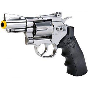 SRC Airsoft Pistol 1 SRC 2.5 INCH Barrel Titan CO2 Gas Airsoft Cowboy GBB Metal Revolver