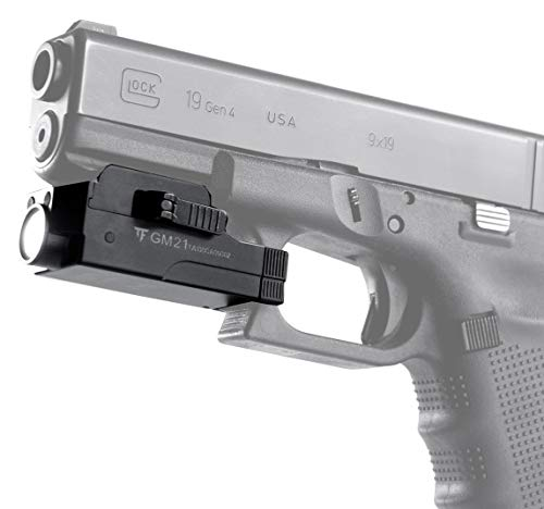 Acid Tactical Weapon Light 2 Pistol Flashlight Compact Handgun Tactical Flashlight 510 Lumens Rechargeable