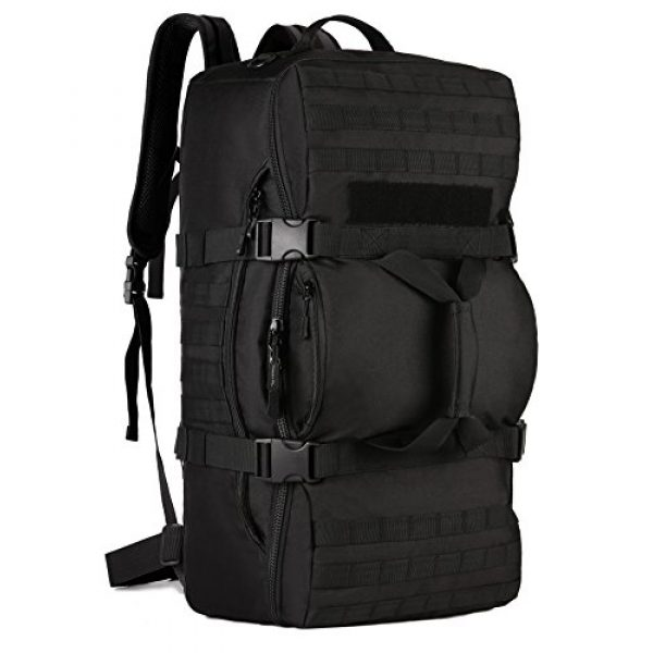 ArcEnCiel Tactical Backpack 1 ArcEnCiel Outdoor Tactical Army Backpack Military Waterproof Camouflage Suitcase Hunting Mountain Sports Luggage Hiking Camping Bag -Rain Cover Included