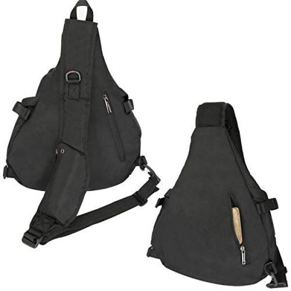 Vanlison Tactical Backpack 6 Vanlison Sling Backpacks, Sling Chest Bags Shoulder Crossbody Bags for Men Women Outdoor Travel Walking Dog Running
