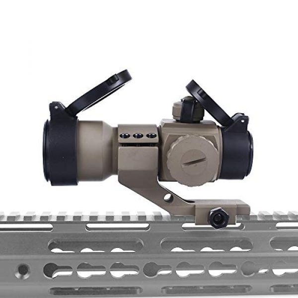KTAIS Rifle Scope 1 KTAIS M3 Tactical Optical Sight Scope Holographic Red Green Dot Reticle Collimator Sight Hunting Riflescope for Airsoft Air Gun (Color : TAN)
