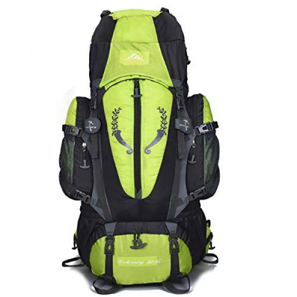 outdoor plus Tactical Backpack 1 outdoor plus Backpacking Backpack, 60L/65L/70L/85L Waterproof MOLLE Rucksack Hiking Hunting