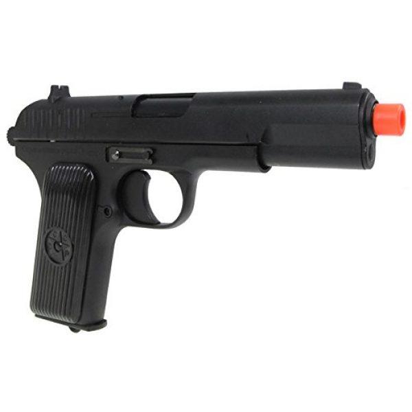 SRC Airsoft Pistol 6 SRC tt33 black star gas blowback full metal with gun case by src(Airsoft Gun)