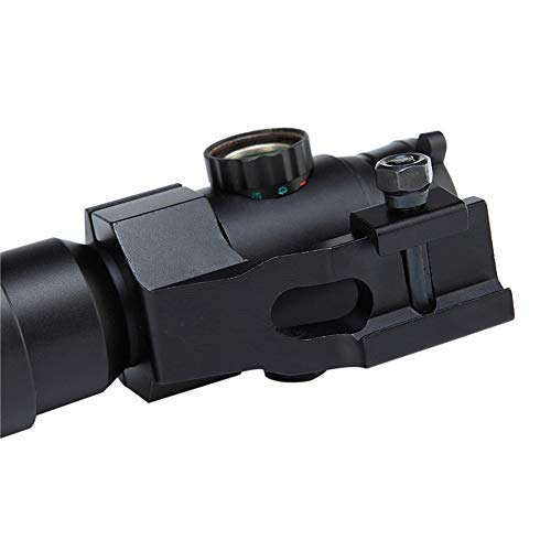 DJym Rifle Scope 2 DJym HD Blue Film Without Magnification, Inner Red Dot Sight with Red Professional Shockproof Waterproof Anti-Fog Sight