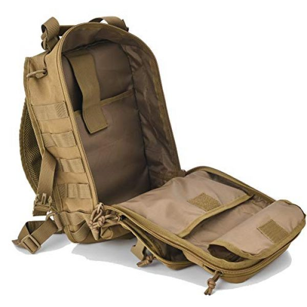 AXEN Tactical Backpack 4 AXEN Tactical EDC Sling Bag Pack, Military Rover Shoulder Molle Backpack, with Flag Patch
