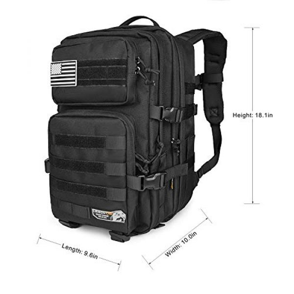 LeisonTac Tactical Backpack 5 LeisonTac Enhanced Tactical Backpack with Military ISO Standard