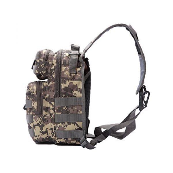 Neasyth Tactical Backpack 4 Neasyth Tactical Sling Bag Backpack Shoulder Chest Bag Outdoor Travel Hiking for Men