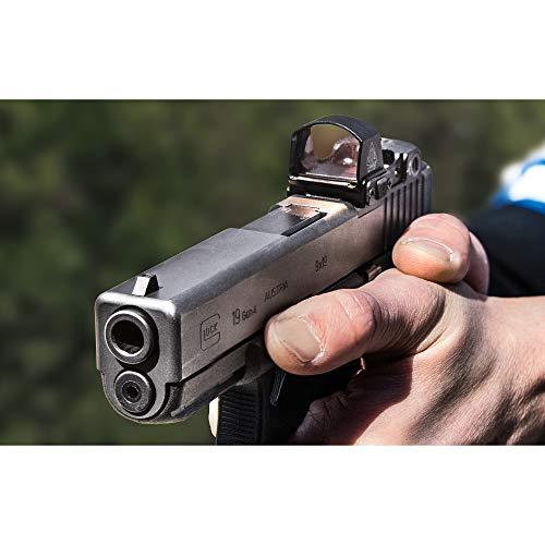 UTG Rifle Scope 2 UTG Reflex Micro Dot, Red 4 MOA Single Dot, Adaptive Base, Black