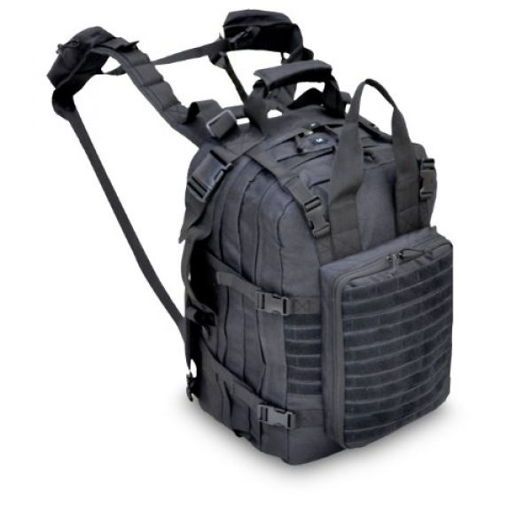 Explorer Tactical Backpack 1 Explorer First aid Survival Kit Emergency Kit Earthquake Survival S.T.O.M.P kit Trauma Bag for Car Home Work Office Boat Camping Hiking Elite Stomp All-Purpose not Blackhawk